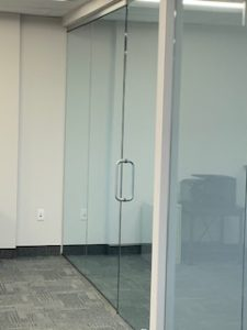Floor to Ceiling Glass Office Partition